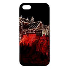 Clifton Mill Christmas Lights Apple iPhone 5 Premium Hardshell Case