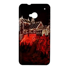 Clifton Mill Christmas Lights HTC One M7 Hardshell Case