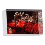 Clifton Mill Christmas Lights 4 x 6  Acrylic Photo Blocks Front