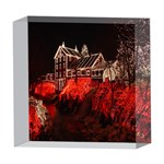 Clifton Mill Christmas Lights 5  x 5  Acrylic Photo Blocks Front