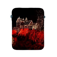 Clifton Mill Christmas Lights Apple iPad 2/3/4 Protective Soft Cases