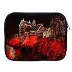 Clifton Mill Christmas Lights Apple iPad 2/3/4 Zipper Cases Front