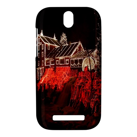 Clifton Mill Christmas Lights HTC One SV Hardshell Case