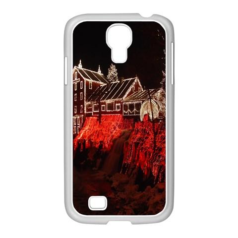 Clifton Mill Christmas Lights Samsung GALAXY S4 I9500/ I9505 Case (White)