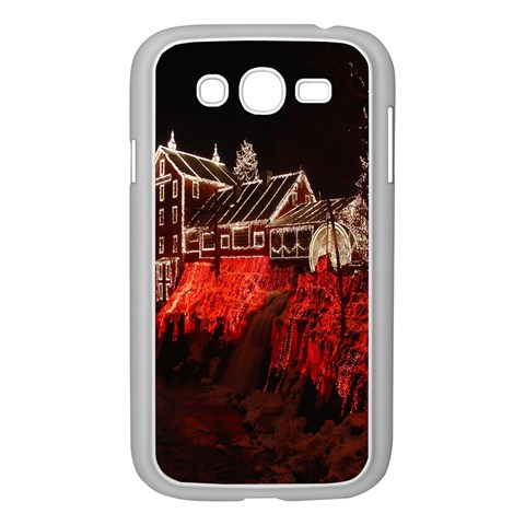 Clifton Mill Christmas Lights Samsung Galaxy Grand DUOS I9082 Case (White)