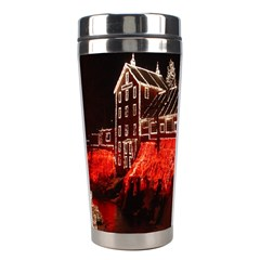 Clifton Mill Christmas Lights Stainless Steel Travel Tumblers