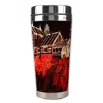 Clifton Mill Christmas Lights Stainless Steel Travel Tumblers Center