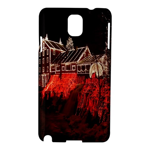 Clifton Mill Christmas Lights Samsung Galaxy Note 3 N9005 Hardshell Case