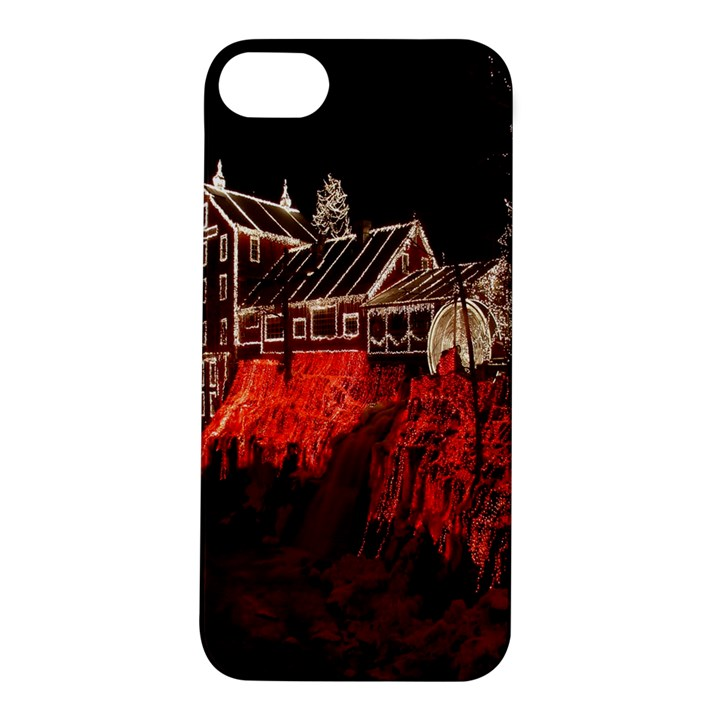 Clifton Mill Christmas Lights Apple iPhone 5S/ SE Hardshell Case