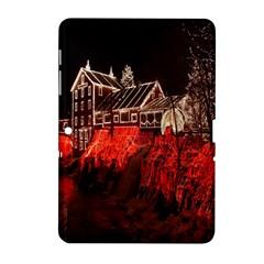 Clifton Mill Christmas Lights Samsung Galaxy Tab 2 (10.1 ) P5100 Hardshell Case