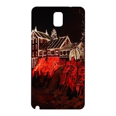 Clifton Mill Christmas Lights Samsung Galaxy Note 3 N9005 Hardshell Back Case