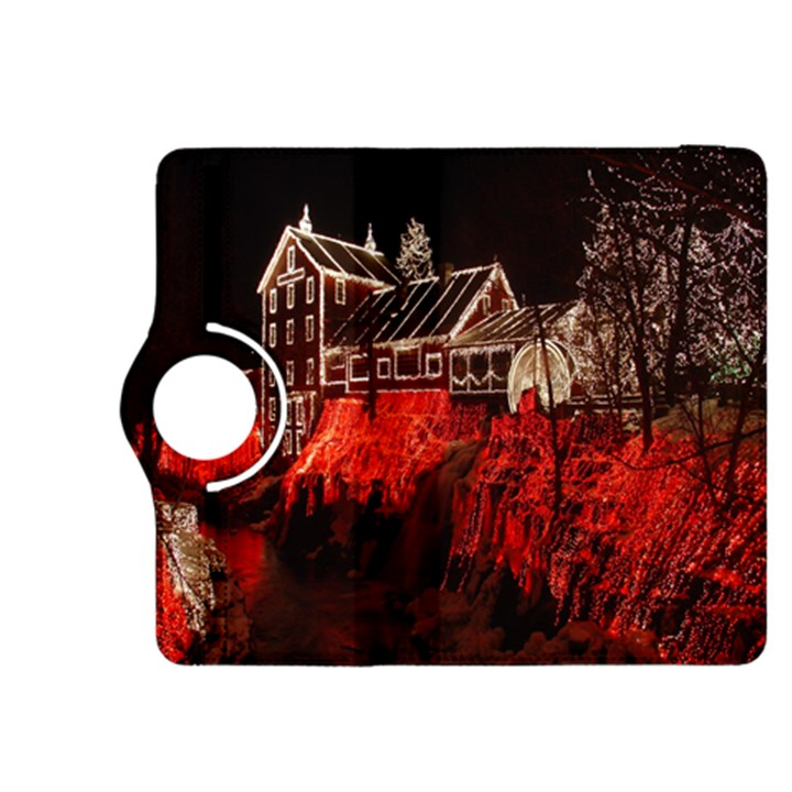Clifton Mill Christmas Lights Kindle Fire HDX 8.9  Flip 360 Case