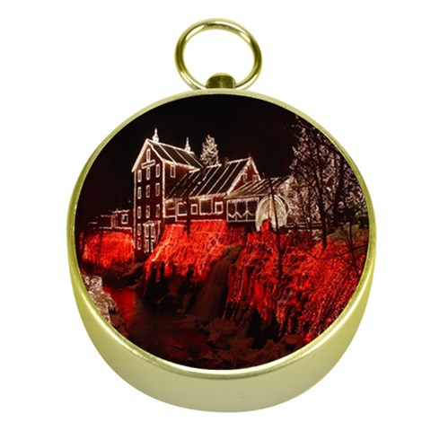 Clifton Mill Christmas Lights Gold Compasses