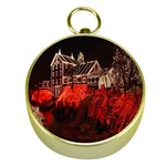 Clifton Mill Christmas Lights Gold Compasses Front