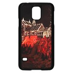 Clifton Mill Christmas Lights Samsung Galaxy S5 Case (Black) Front