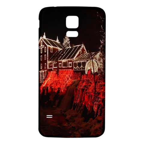 Clifton Mill Christmas Lights Samsung Galaxy S5 Back Case (White)