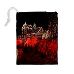 Clifton Mill Christmas Lights Drawstring Pouches (Large)  Back