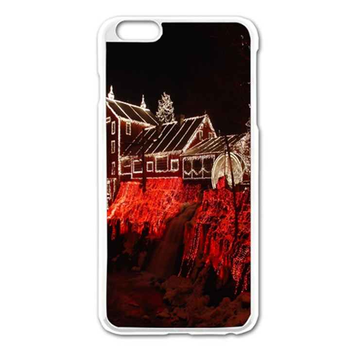 Clifton Mill Christmas Lights Apple iPhone 6 Plus/6S Plus Enamel White Case