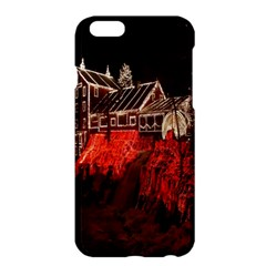 Clifton Mill Christmas Lights Apple iPhone 6 Plus/6S Plus Hardshell Case