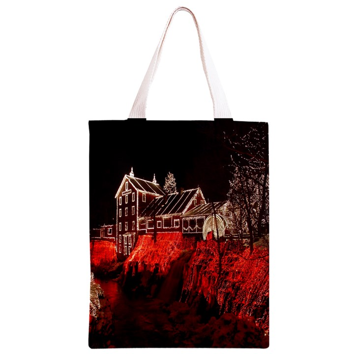 Clifton Mill Christmas Lights Classic Light Tote Bag