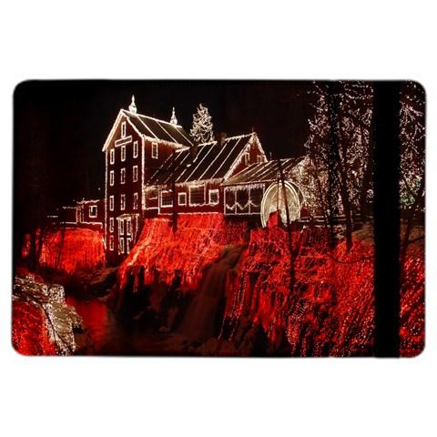 Clifton Mill Christmas Lights iPad Air 2 Flip