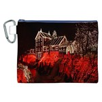 Clifton Mill Christmas Lights Canvas Cosmetic Bag (XXL) Front