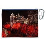 Clifton Mill Christmas Lights Canvas Cosmetic Bag (XXL) Back