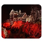 Clifton Mill Christmas Lights Double Sided Flano Blanket (Small)  50 x40 Blanket Front