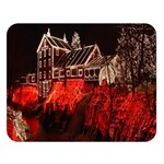 Clifton Mill Christmas Lights Double Sided Flano Blanket (Large)   Blanket Back
