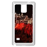 Clifton Mill Christmas Lights Samsung Galaxy Note 4 Case (White) Front