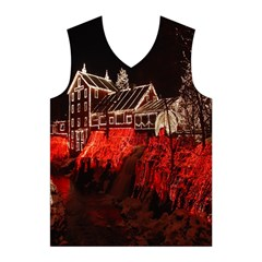 Clifton Mill Christmas Lights Men s Basketball Tank Top
