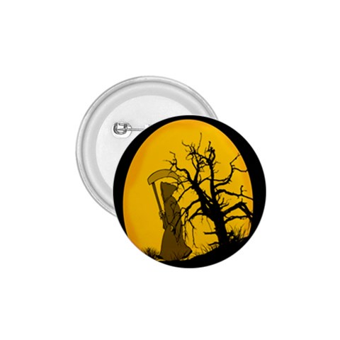 Death Haloween Background Card 1.75  Buttons