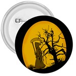Death Haloween Background Card 3  Buttons Front