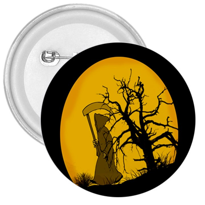 Death Haloween Background Card 3  Buttons