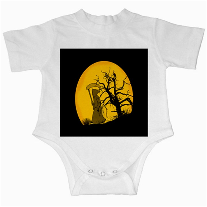Death Haloween Background Card Infant Creepers