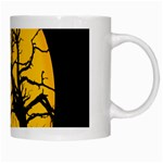 Death Haloween Background Card White Mugs Right