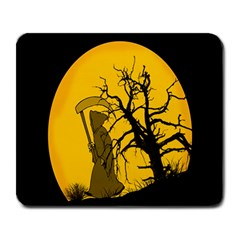 Death Haloween Background Card Large Mousepads