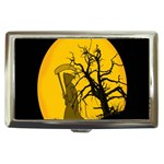Death Haloween Background Card Cigarette Money Cases Front