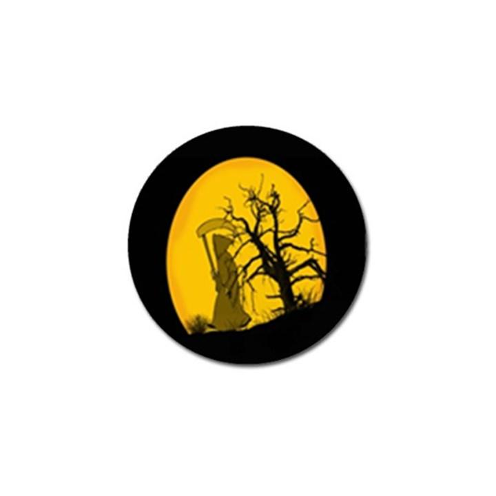 Death Haloween Background Card Golf Ball Marker