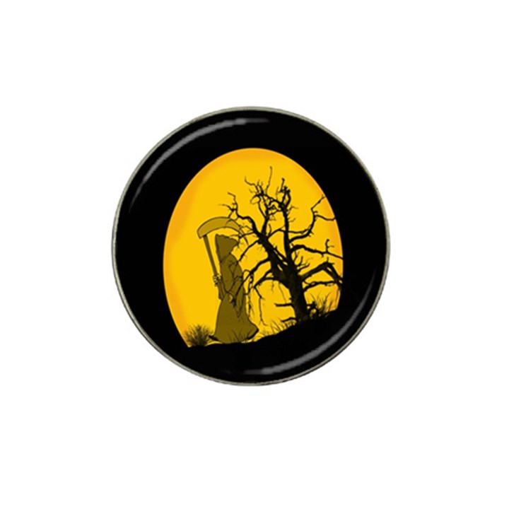 Death Haloween Background Card Hat Clip Ball Marker (10 pack)