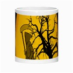 Death Haloween Background Card Morph Mugs Center