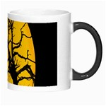 Death Haloween Background Card Morph Mugs Right