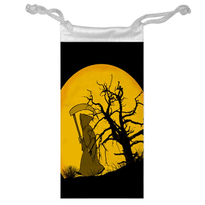 Death Haloween Background Card Jewelry Bags