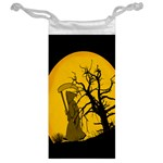 Death Haloween Background Card Jewelry Bags Back
