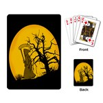 Death Haloween Background Card Playing Card Back