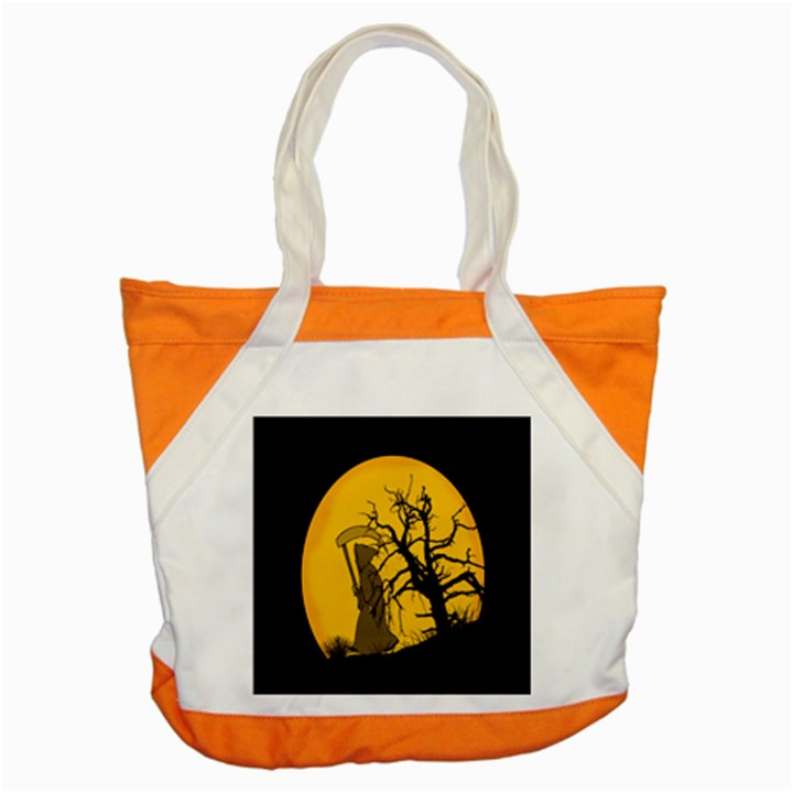 Death Haloween Background Card Accent Tote Bag