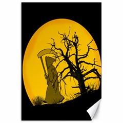 Death Haloween Background Card Canvas 20  x 30