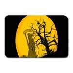 Death Haloween Background Card Plate Mats 18 x12 Plate Mat - 1