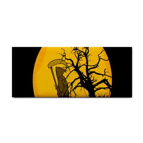 Death Haloween Background Card Hand Towel