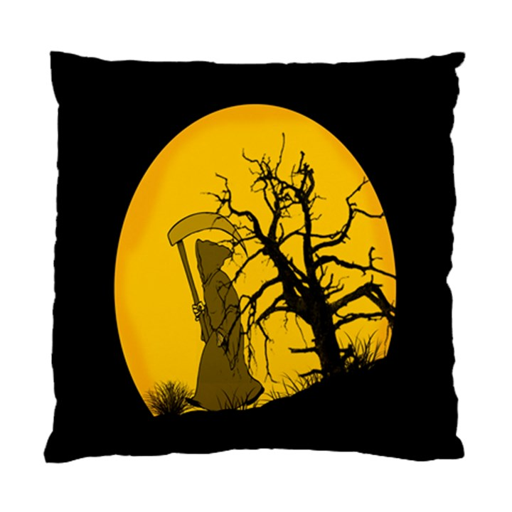 Death Haloween Background Card Standard Cushion Case (Two Sides)